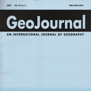 Geo Journal Book Cover