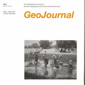 Geo Journal White Book cover